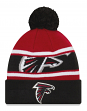 "Atlanta Falcons New Era NFL ""Callout Pom"" Cuffed Knit Hat with Pom"
