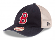 "Boston Red Sox New Era MLB 9Twenty Cooperstown ""Frayed Twill 2"" Mesh Back Hat"