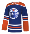 Edmonton Oilers Adidas NHL Men's Climalite Authentic Alternate Hockey Jersey