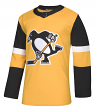 Pittsburgh Penguins Adidas NHL Men's Climalite Authentic Alternate Hockey Jersey