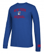 "New York Rangers NHL Adidas ""True Original"" Long Sleeve Tri-Blend T-Shirt"