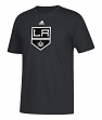 Los Angeles Kings Adidas NHL Primary Logo Men's Black Short Sleeve T-Shirt