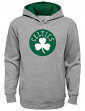 "Boston Celtics Youth NBA ""Prime Time"" Pullover Hooded Sweatshirt - Gray"