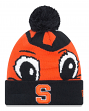 "Syracuse Orange New Era NCAA ""Logo Whiz 3"" Cuffed Knit Hat with Pom"