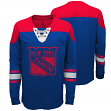 "New York Rangers NHL ""Perennial"" Youth Long Sleeve Hockey Crew Shirt"