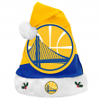 Golden State Warriors 2018 NBA Basic Logo Plush Christmas Santa Hat