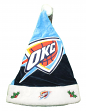 Oklahoma City Thunder 2018 NBA Basic Logo Plush Christmas Santa Hat