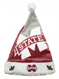 Mississippi State Bulldogs 2018 NCAA Basic Logo Plush Christmas Santa Hat