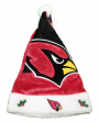 Arizona Cardinals 2018 NFL Basic Logo Plush Christmas Santa Hat