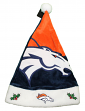 Denver Broncos 2018 NFL Basic Logo Plush Christmas Santa Hat