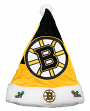 Boston Bruins 2018 NHL Basic Logo Plush Christmas Santa Hat