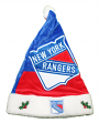 New York Rangers 2018 NHL Basic Logo Plush Christmas Santa Hat