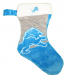 Detroit Lions 2018 NFL Basic Logo Plush Christmas Stocking