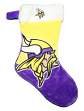 Minnesota Vikings 2018 NFL Basic Logo Plush Christmas Stocking