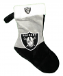 Oakland Raiders 2018 NFL Basic Logo Plush Christmas Stocking