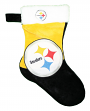 Pittsburgh Steelers 2018 NFL Basic Logo Plush Christmas Stocking