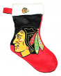 Chicago Blackhawks 2018 NHL Basic Logo Plush Christmas Stocking