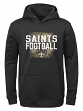 """New Orleans Saints Youth NFL """"Attitude"""" Pullover Hooded Performance Sweatshirt"""