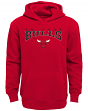 """Chicago Bulls Youth NBA """"Fadeout"""" Pullover Hooded Sweatshirt"""
