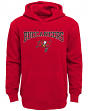 """Tampa Bay Buccaneers Youth NFL """"Fadeout"""" Pullover Hooded Sweatshirt"""