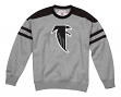 "Atlanta Falcons Mitchell & Ness NFL ""Post Season Run"" Men's Crew Sweatshirt"