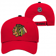 "Chicago Blackhawks Youth NHL ""Icing"" Structured Adjustable Hat"