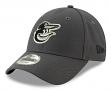"Baltimore Orioles New Era 9Forty MLB ""The League Graphite"" Adjustable Hat"