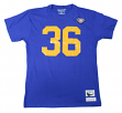 """Jerome Bettis Los Angeles Rams Mitchell & Ness NFL Men's """"Player""""  S/S T-Shirt"""