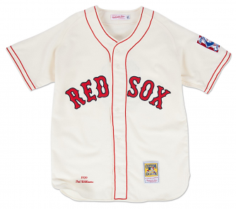 Ted Williams Boston Red Sox Mitchell & Ness Authentic 1939 Button Up Jersey