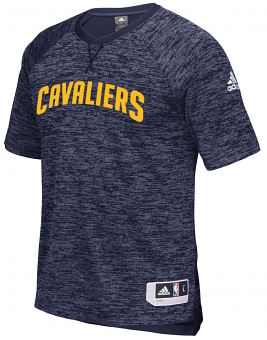 Cleveland Cavaliers Adidas 2016 NBA Men's On-Court Authentic S/S Shooting Shirt