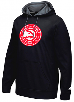 "Atlanta Hawks Adidas 2016 NBA ""Playbook"" Men's Hooded Sweatshirt"