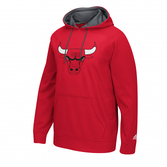 "Chicago Bulls Adidas 2016 NBA ""Playbook"" Men's Hooded Sweatshirt"