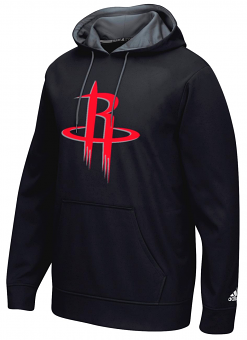 "Houston Rockets Adidas 2016 NBA ""Playbook"" Men's Hooded Sweatshirt"