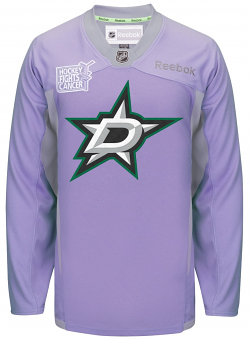 Dallas Stars Reebok NHL Hockey Fights Cancer Practice Men's Jersey