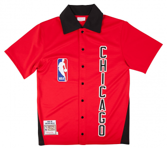 Chicago Bulls Mitchell & Ness NBA 1984-85 Authentic Shooting Shirt