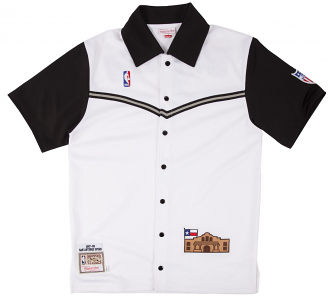 San Antonio Spurs Mitchell & Ness NBA 1987-88 Authentic Shooting Shirt