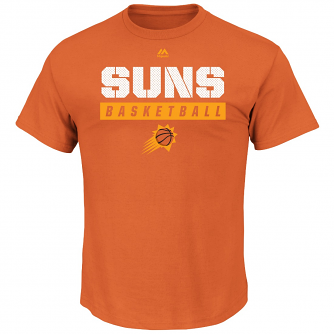 "Phoenix Suns Majestic NBA ""Proven Pastime"" Short Sleeve Men's T-Shirt"