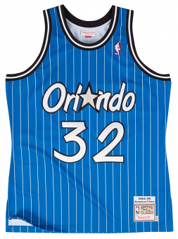Shaquille O'Neal Orlando Magic Mitchell & Ness Authentic 1994 Blue NBA Jersey