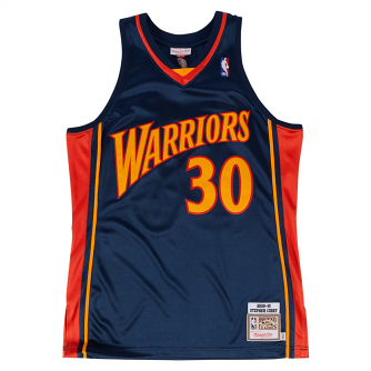 Stephen Curry Golden State Warriors Mitchell & Ness Authentic 2009 Navy Jersey