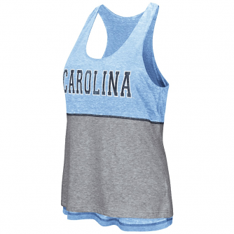 "North Carolina Tarheels Women's NCAA ""Red Ross"" Reversible Burn Out Tank Top"