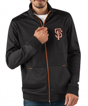 "San Francisco Giants MLB G-III ""Progression"" Men's Full Zip Track Jacket"