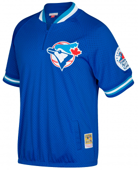 Joe Carter Toronto Blue Jays Mitchell & Ness MLB Authentic 1991 Warm-Up Jacket