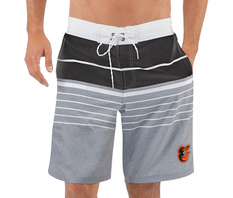 "Baltimore Orioles MLB G-III ""Balance"" Men's Boardshorts Swim Trunks"