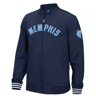 "Memphis Grizzlies Adidas NBA ""Originals"" Men's Performance Full Zip Track Jacket"