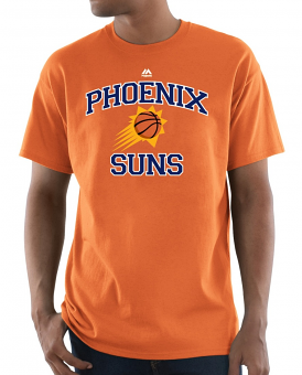"Phoenix Suns Majestic NBA ""Heart & Soul 3"" Men's S/S T-Shirt"