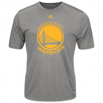 "Golden State Warriors Majestic NBA ""Never Give Up"" Men's Synthetic T-Shirt"