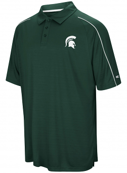 "Michigan State Spartans NCAA ""Setter"" Men's Performance Polo Shirt"