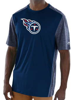 """Tennessee Titans Majestic NFL """"Unmatched"""" Men's S/S Performance Shirt"""