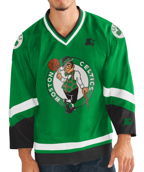 "Boston Celtics Starter NBA Men's ""Legend"" Hockey Jersey"