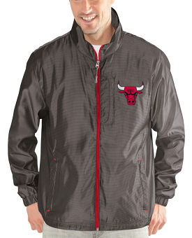 "Chicago Bulls NBA G-III ""Executive"" Full Zip Premium Men's Jacket"